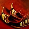 Turkish Slippers Original Oil Painting by Linda Boucher