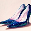 Blue Twinkle Toes by Linda Boucher