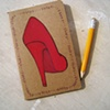 Shoes Shoes Shoes Moleskine Notebook by Linda Boucher