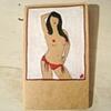 Saucy Sue Large Moleskine Notebook by Linda Boucher