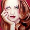 Emerald Eyes Original Oil Painting by Linda Boucher