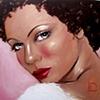 Rosie Original Oil Painting by Linda Boucher