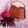 Handbag and Gloves by Linda Boucher