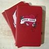 True Love Red Moleskine Notebooks