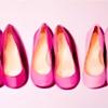 Three Pink Pumps by Linda Boucher