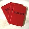 Secrets Red Moleskine Notebook by Linda Boucher