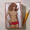 Super Pants Moleskine Notebook by Linda Boucher