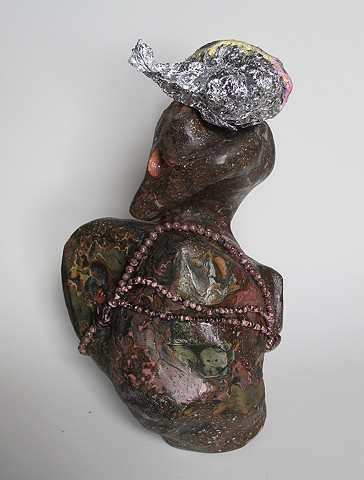 Untitled (Necklace and Head)
