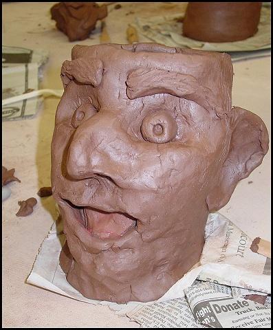 Face Pot from WXPN Workshop