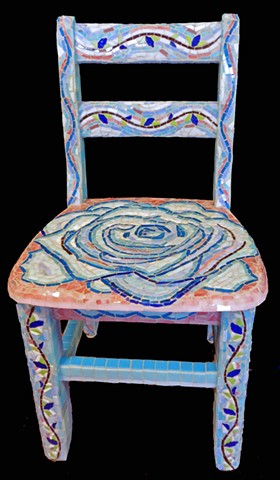 Rose Vine Chair front view