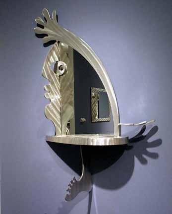 art furniture, wall art, metal sculpture, aluminum sculpture, art