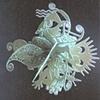 Psychotic Snowflake - sculpture
