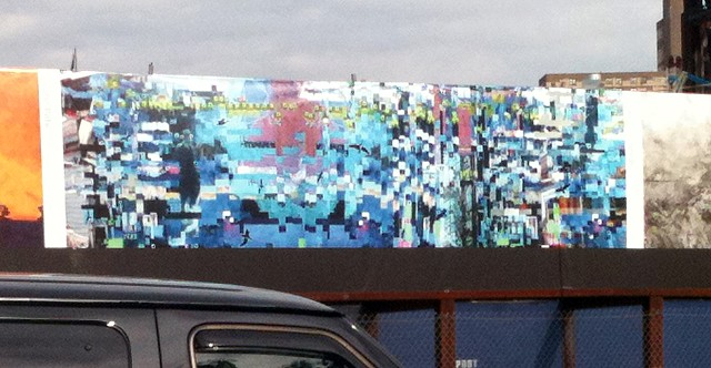 Outdoor Installation at Barclay Center