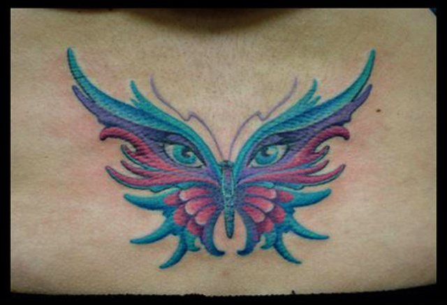 tattoo butterfly color eyes tattoos salisbury maryland
