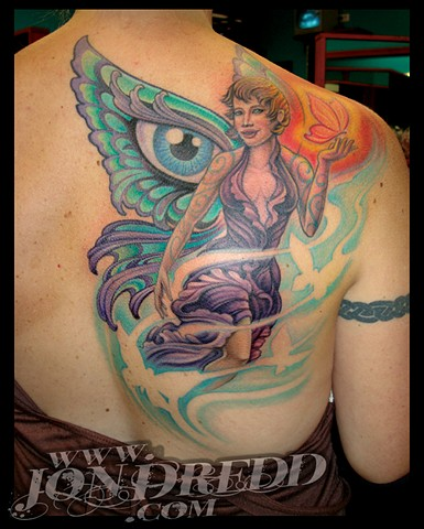 crucial tattoo studio salisbury maryland tattoos jonathan kellogg jon dredd Kristin Faerie tattoo delaware ocean city