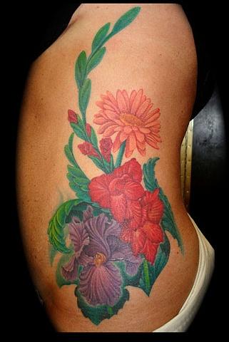 tattoo flowers flower tattoo iris salisbury maryland