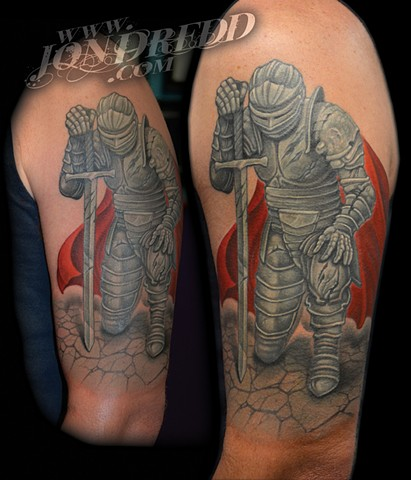 knight crucial tattoo studio salisbury maryland delaware jon dredd kellogg tattoos