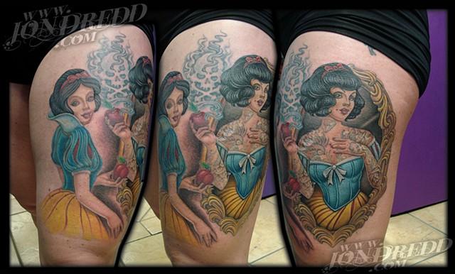 crucial tattoo studio best tattoos salisbury maryland tattoos jonathan kellogg jon dredd snow white disney tattoo delaware ocean city