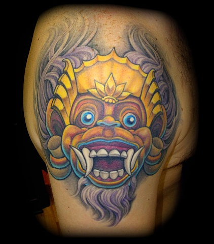 tattoo monkey mask tattoos salisbury maryland