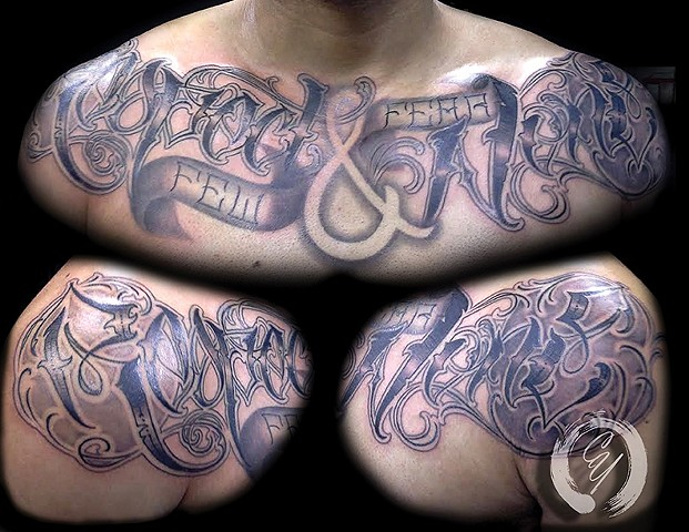 cyrus high tattooer crucial tattoo studio ocean city maryland delaware virginia best tattoos lettering letters
