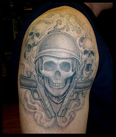 tattoo guns skull tattoos salisbury maryland