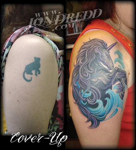 Horse Wave (coverup)