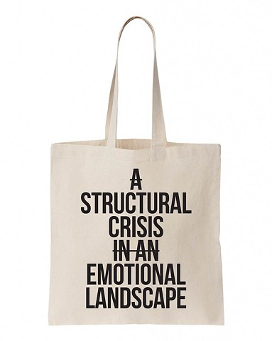 A Structural Crisis In An Emotional Landscape Tote Bag