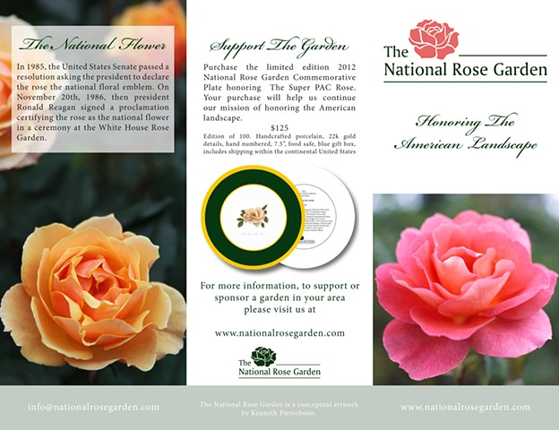 Selections From The National Rose Garden (flyer detail) Art Basel Miami Beach, SCOPE Miami, FL.