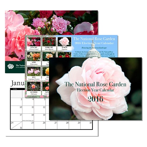 2016 National Rose Garden Election Year Calendar