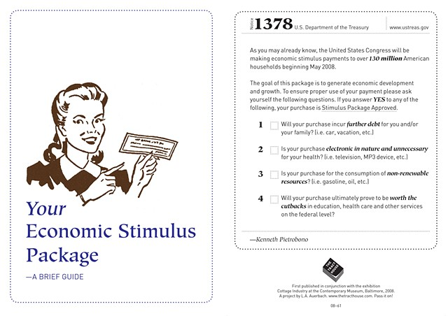 Your Economic Stimulus Package