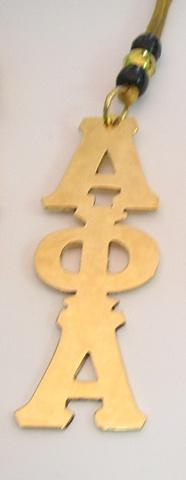 Alpha Phi Alpha Drop Letters Tiki