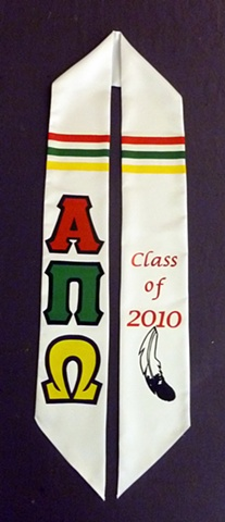 Alpha Pi Omega Graduation Stole [2010]