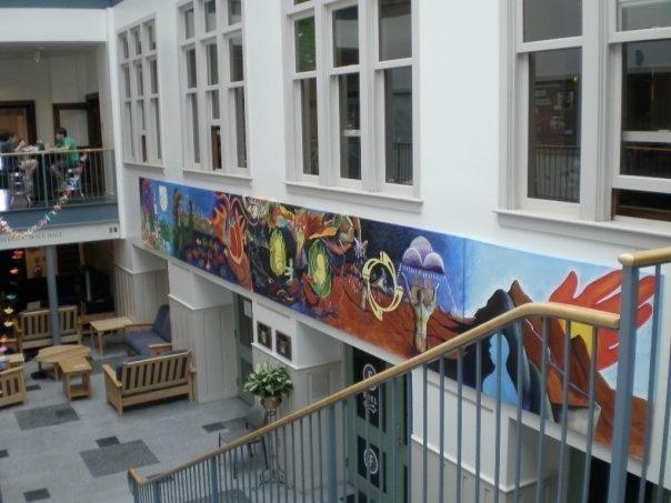 Dartmouth College - Collis Mural