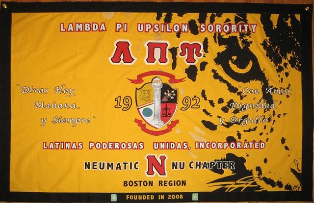 Lambda Pi Upsilon - Nu Chapter Banner