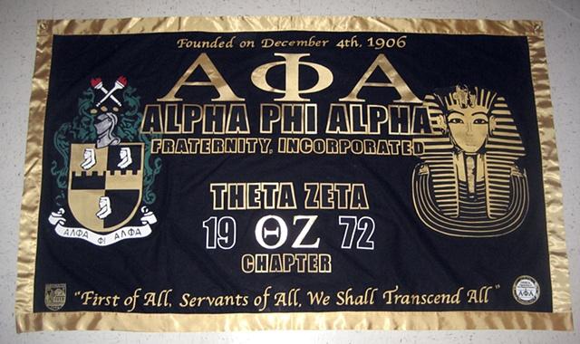 APhiA - Theta Zeta Chapter Banner