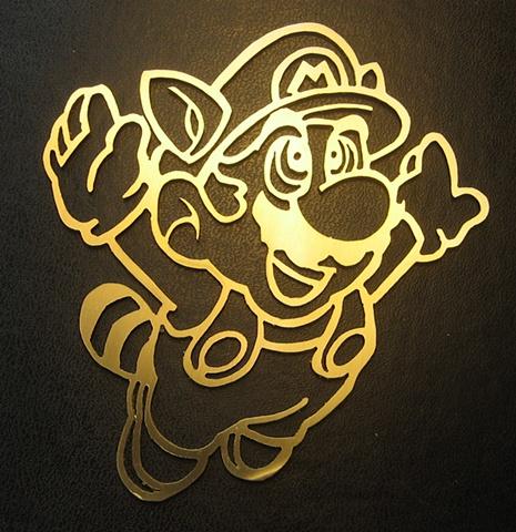 Racoon Mario