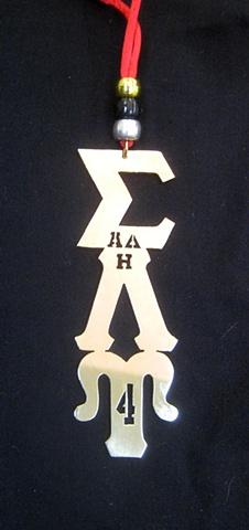 SLU Drop Letters customized