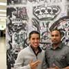 Artists Ojeda and Lucin