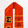 Sigma Lambda Upsilon Graduation Stole