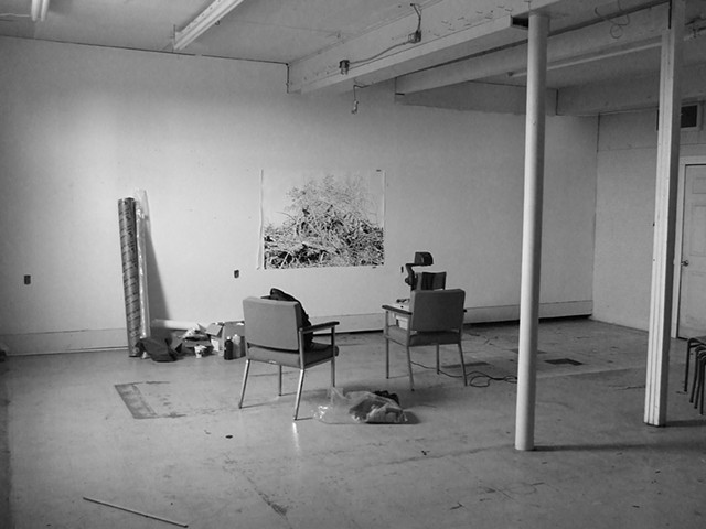 Lorne Street studio, September