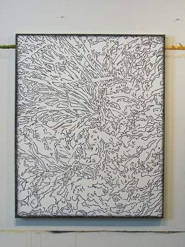 Untitled (seaweed) - in progress