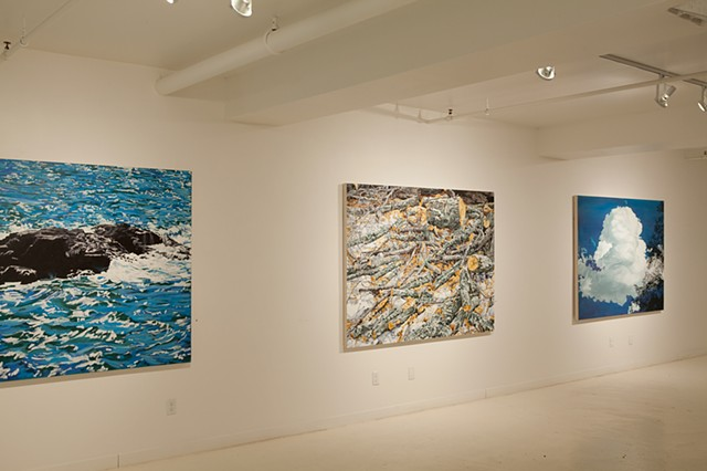 installation view, Peter Buckland Gallery 2015