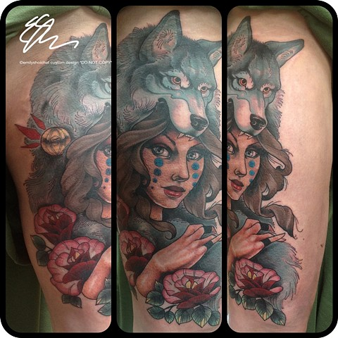 Wolfwoman Thigh