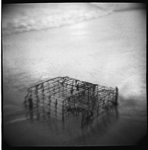 Toy camera image (Diana clone) printed on silver gelatin paper