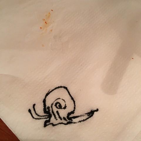 Napkin Snail