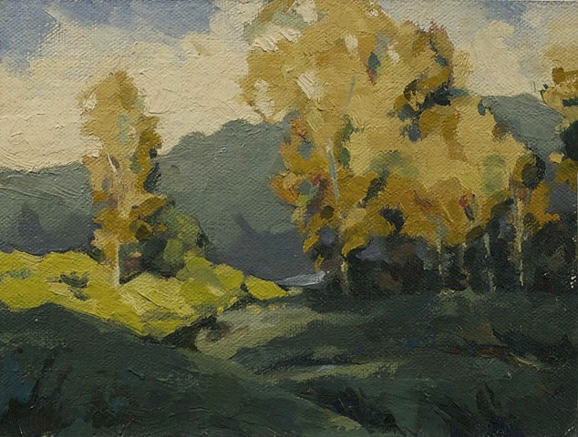 Untitled (Plein Air Study)
