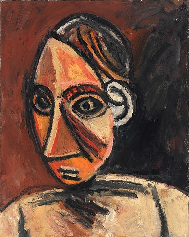 After Picasso (Head No. 1)