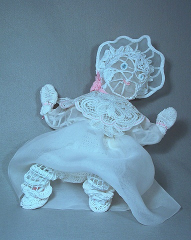Mixed Media sculpture of baby
