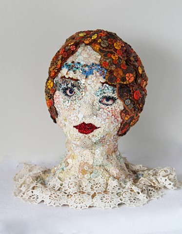 sculpture/San Francisco/Fiber/portrait/textile