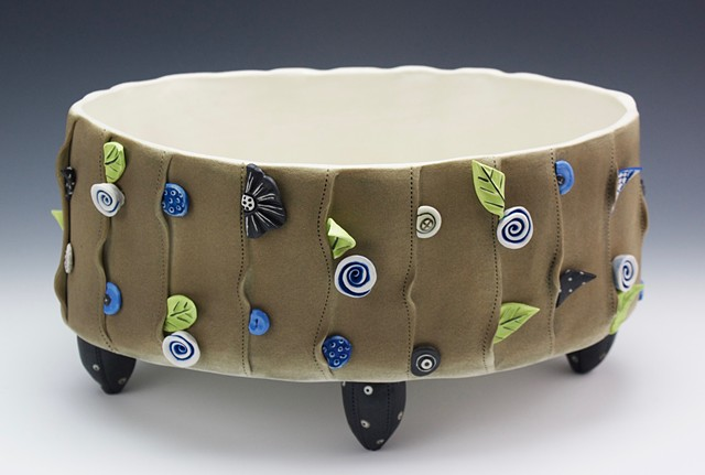 "Laura Peery's ""Accoutrements"" vessel"